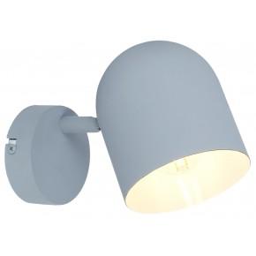 AZURO LAMPA KINKIET 1X40W E27 SZARY MAT