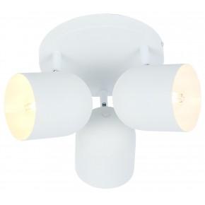 AZURO LAMPA SUFITOWA PLAFON 3X40W E27 BIAŁY