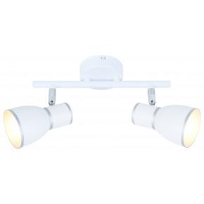 FIDO LAMPA SUFITOWA LISTWA 2X40W E14 BIAŁY+CHROM