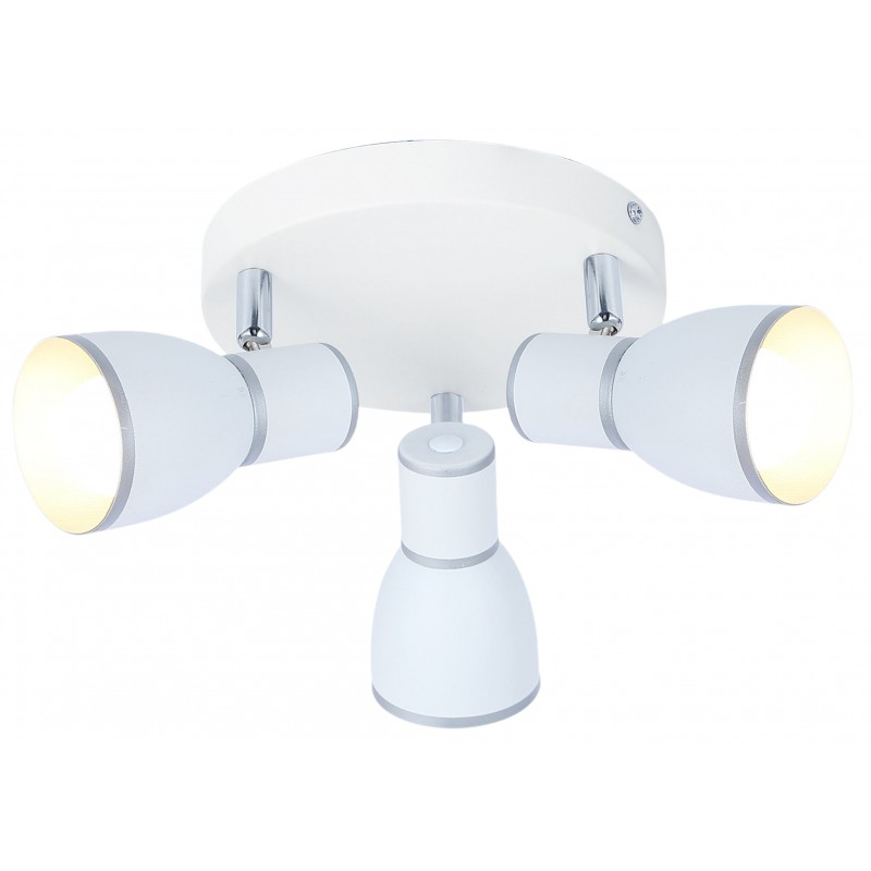 Lampy-sufitowe - okrągła lampa sufitowa z trzema kloszami 3x40w e14 fido 98-63397 candellux firmy Candellux