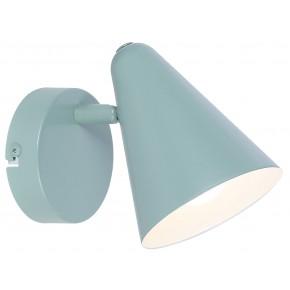 AMOR LAMPA KINKIET 1X40W E14 SZARY MAT