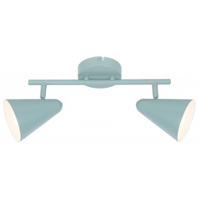 AMOR LAMPA SUFITOWA LISTWA 2X40W E14 SZARY MAT