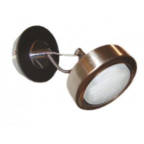 EARTH LAMPA KINKIET 1X9W GX53 ENERGO SATYNA/WENGE