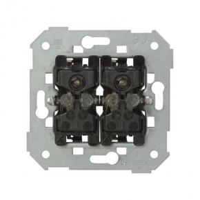 Włącznik z podświetleniem świecznikowy / podwójny schodowy 10AX 75394-39 Simon 82 Kontakt-Simon