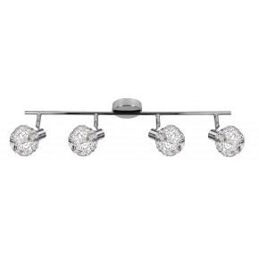 COLLAR LAMPA SUFITOWA LISTWA 4X40W G9 CHROM