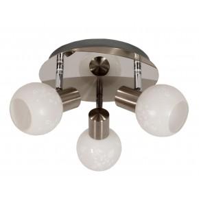 AVILA LAMPA SUFITOWA PLAFON 3X40W E14 SATYNA