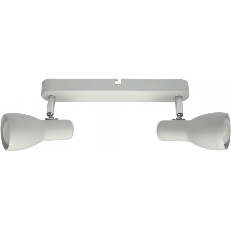 Lampy-sufitowe - listwa oświetleniowa dwa spoty biała e14 92-44181 picardo candellux firmy Candellux