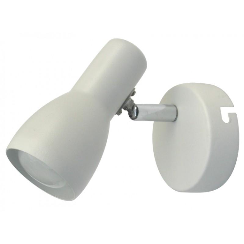 Kinkiety - picardo lampa kinkiet 1x40w e14 biały mat candellux 91-44198 firmy Candellux