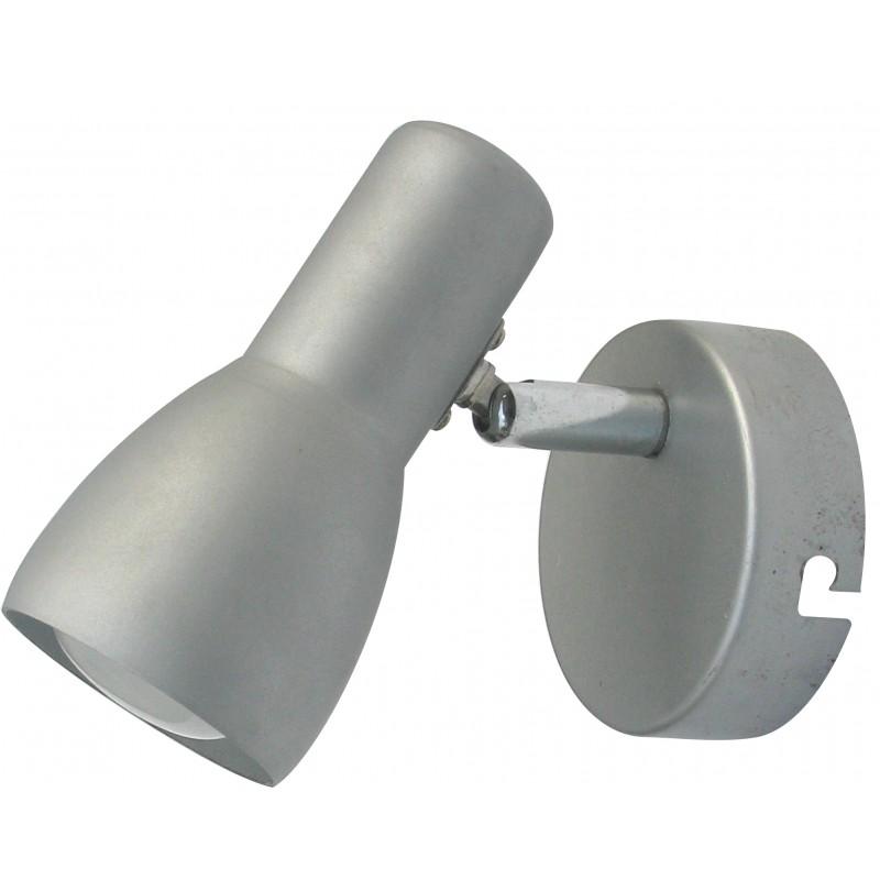 Kinkiety - kinkiet szaro-srebrny na żarówkę e14 91-43917 picardo candellux firmy Candellux