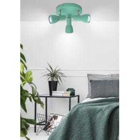 Oprawy-sufitowe - potrójny spot sufitowy miętowy 3x40w e14 picardo 98-50601 candellux