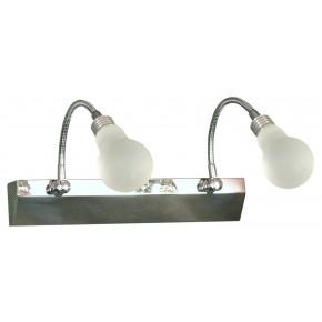 ACRYLIC LED LAMPA KINKIET 2X2W LED CHROM BIAŁY