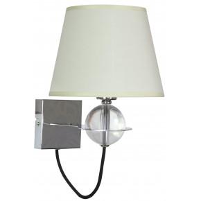 TESORO LAMPA KINKIET 1X40W E14 KREMOWY JASNY