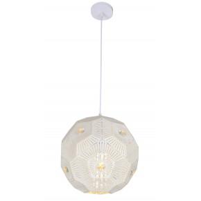 Lampy-sufitowe - biała lampa wisząca sufitowa na żarówkę e27 euphoria 31-69689 candellux