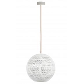 Lampy-sufitowe - oświetlenie wiszące - kula o średnicy 25cm 1x60w e27 bene 31-70579 candellux