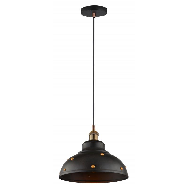 Lampy-sufitowe - oświetlenie wiszące z patynowymi elementami dekoracyjnymi 30 1x40w e27 scrimi 31-57662 candellux firmy Candellux