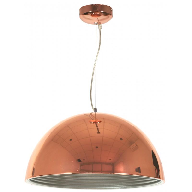 Lampy-sufitowe - lampa wisząca miedziana o średnicy 40cm 1x60w e27 amalfi 31-26392 candellux firmy Candellux