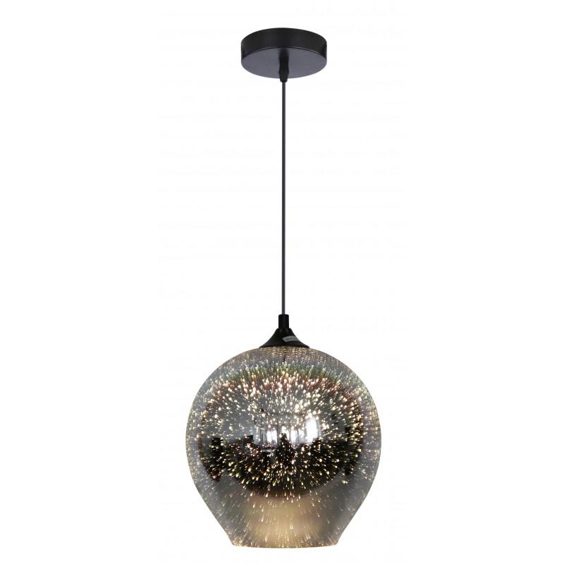 Lampy-sufitowe - lampa wisząca 23 z efektem 3d 1x60w e27 galactic 2 31-51295 candellux firmy Candellux