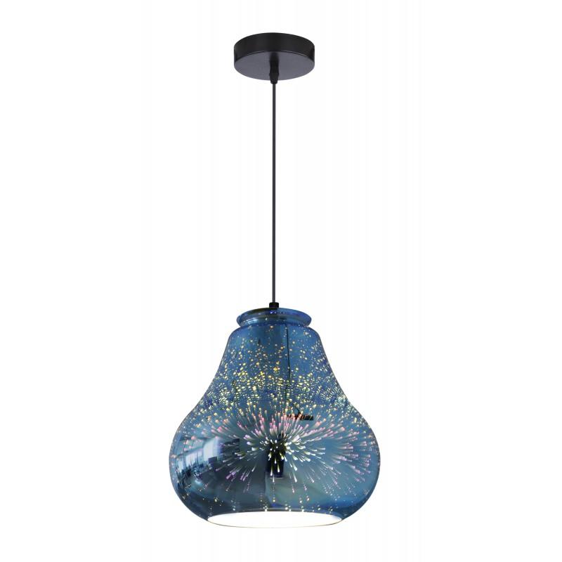 Lampy-sufitowe - lampa wisząca 19 z zjawiskowym efektem 1x60w e27 galactic 4 31-56108 candellux firmy Candellux