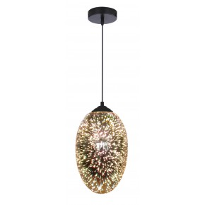 GALACTIC 1 LAMPA WISZĄCA 20 1X60W E27 3D