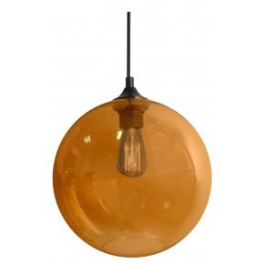 EDISON LAMPA WISZĄCA 25 1X60W E27 BURSZTYNOWY + ŻARÓWKA