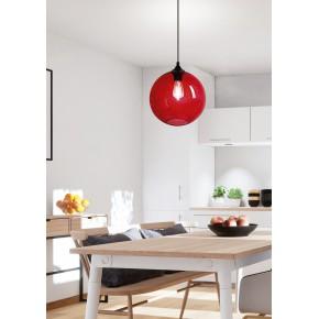 Lampy-sufitowe - wyjątkowa czerwona lampa sufitowa 25 1x60w e27 edison 31-21410 candellux