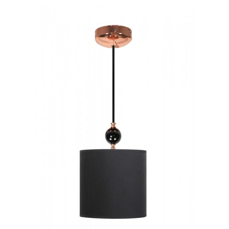Lampy-sufitowe - lampa wisząca ze stali o tkaninowym kloszu 1x60w e27 melba 31-39385 candellux firmy Candellux