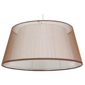 CHARLIE LAMPA WISZĄCA 45 1X60W E27 BRĄZOWY