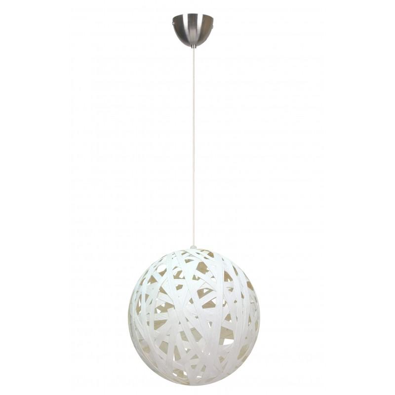 Lampy-sufitowe - lampa kula biała o średnicy 40 cm frida 31-51127 candellux firmy Candellux