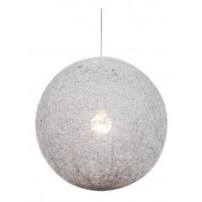 CARUBA LAMPA WISZĄCA 1X60W E27 BIAŁY 50