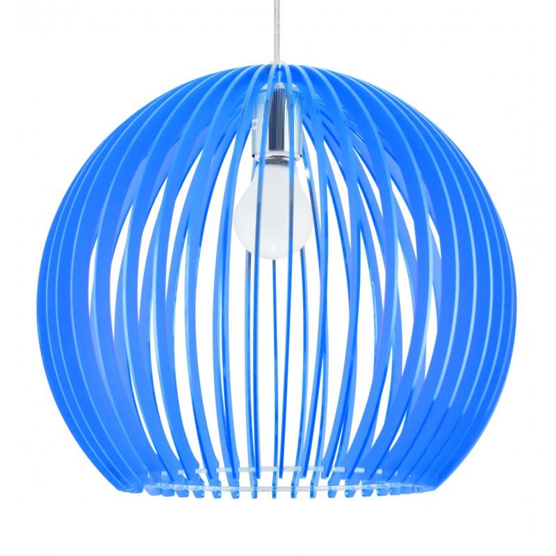 Lampy-sufitowe - oświetlenie wiszące w oryginalnym niebieskim kolorze 1x60w e27 haga 31-50345 candellux firmy Candellux