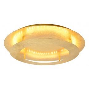 MERLE LAMPA SUFITOWA PLAFON 50 24W LED 3000K ZŁOTY