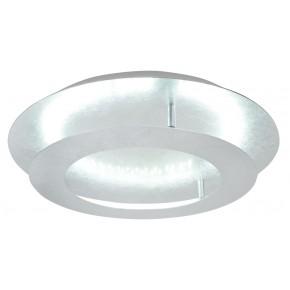 MERLE LAMPA SUFITOWA PLAFON 40 18W LED 3000K SREBRNY
