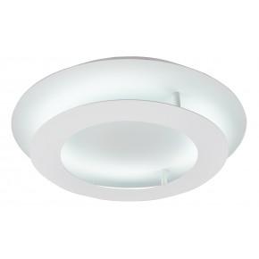 Plafony - biały plafon okrągły - dwupoziomowy 18w led 3000k merle 98-66183 candellux