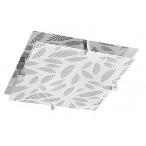 FIKUS LAMPA SUFITOWA PLAFON 30X30 1X60W E27 CHROM