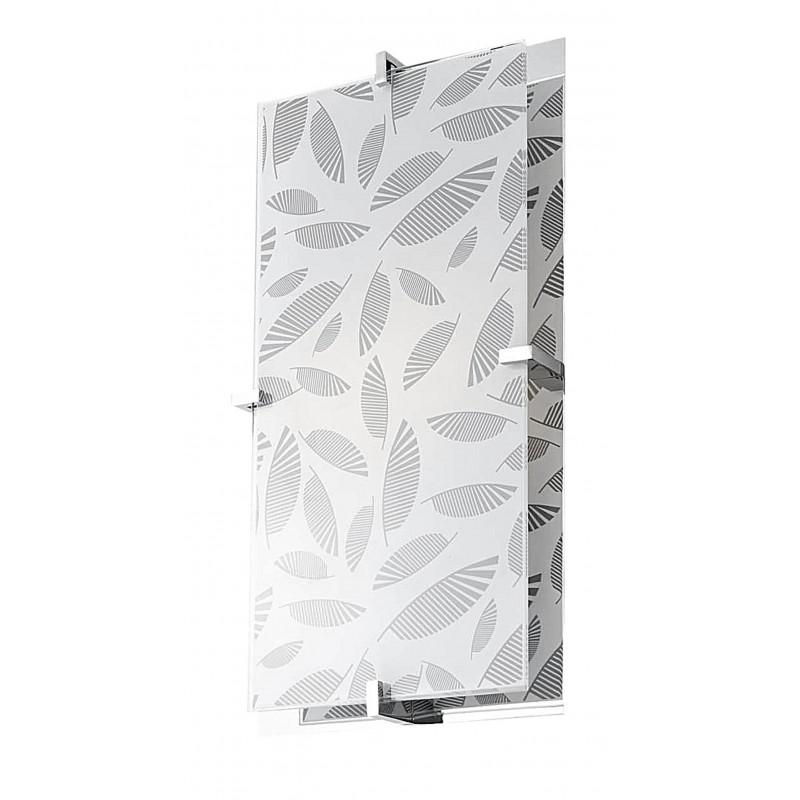 Plafony - prostokątny plafon o podwójnej konstrukcji 40x20 2x60w e27 fikus firmy Candellux
