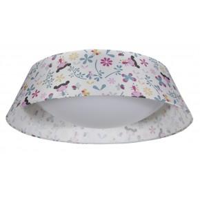 GIRL LAMPA SUFITOWA PLAFON 45 16W LED 6500 K Z ABAŻUREM