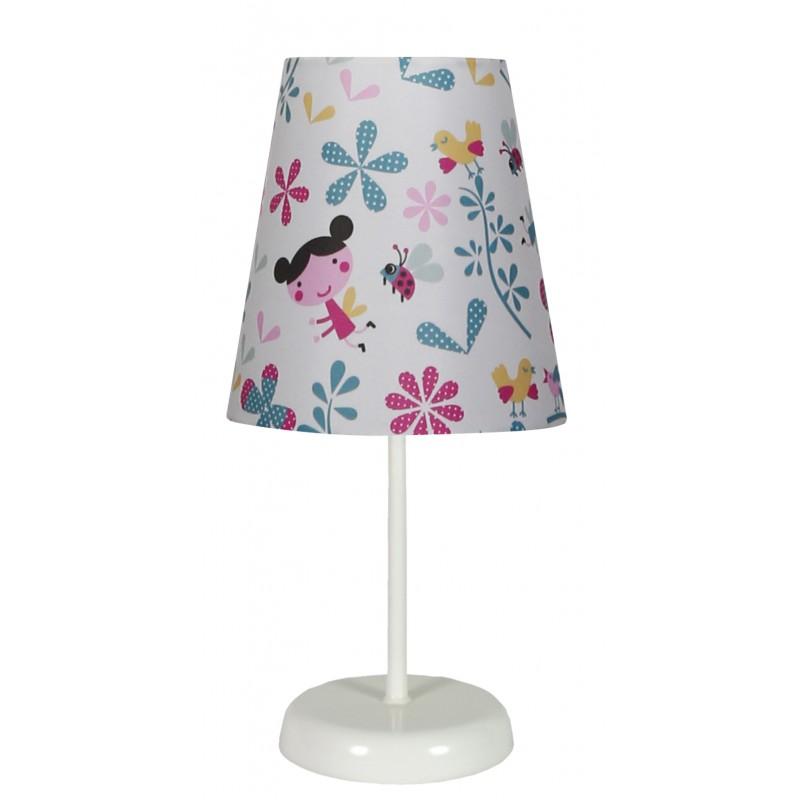 Lampki-nocne - lampa nocna przeznaczona do pokoju dziecięcego 1x40w e14 girl 41-63038 candellux firmy Candellux