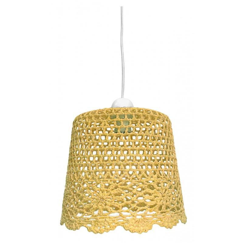 Lampy-sufitowe - lampa wisząca w stylu folkowym 27 1x60w e27 nonna 31-38494 candellux firmy Candellux