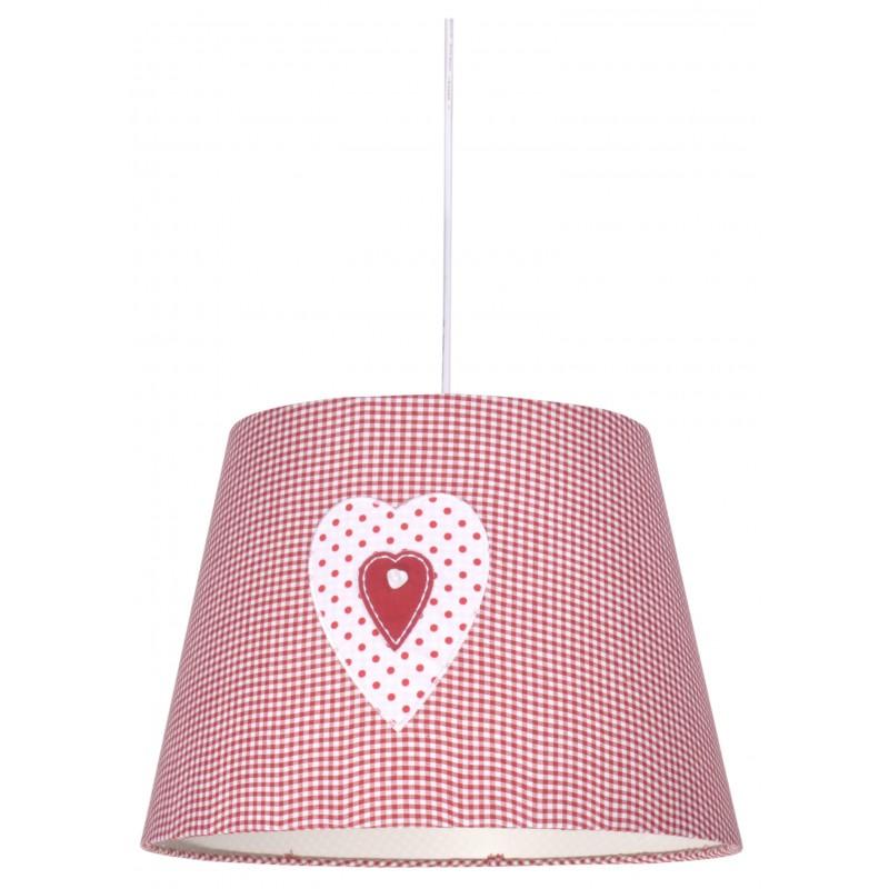 Lampy-sufitowe - lampa wisząca różowa z serduszkiem sweet junior 31-07179 candellux firmy Candellux