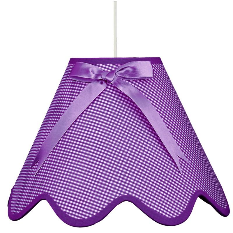 Lampy-sufitowe - lampa wisząca fioletowa na żarówkę e27 1x60w lola 31-14573 candellux firmy Candellux