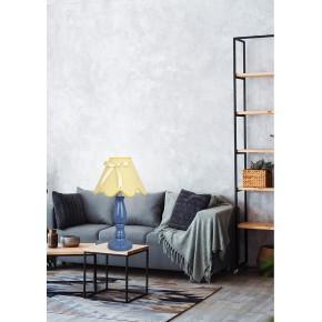 Lampki-nocne - niebiesko żółta lampa gabinetowa 1x40w e14 lola 41-63472 candellux