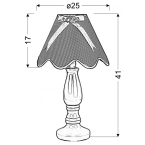 Lampki-nocne - wyjątkowa lampa nocna żółto niebieska 1x40w e14 lola 41-63489 candellux