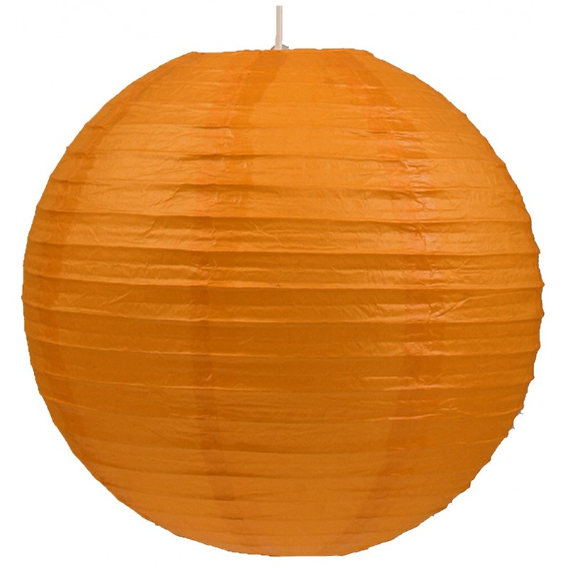Lampy-sufitowe - pomarańczowy abażur - kula z papieru kokon 31-88232 candellux firmy Candellux