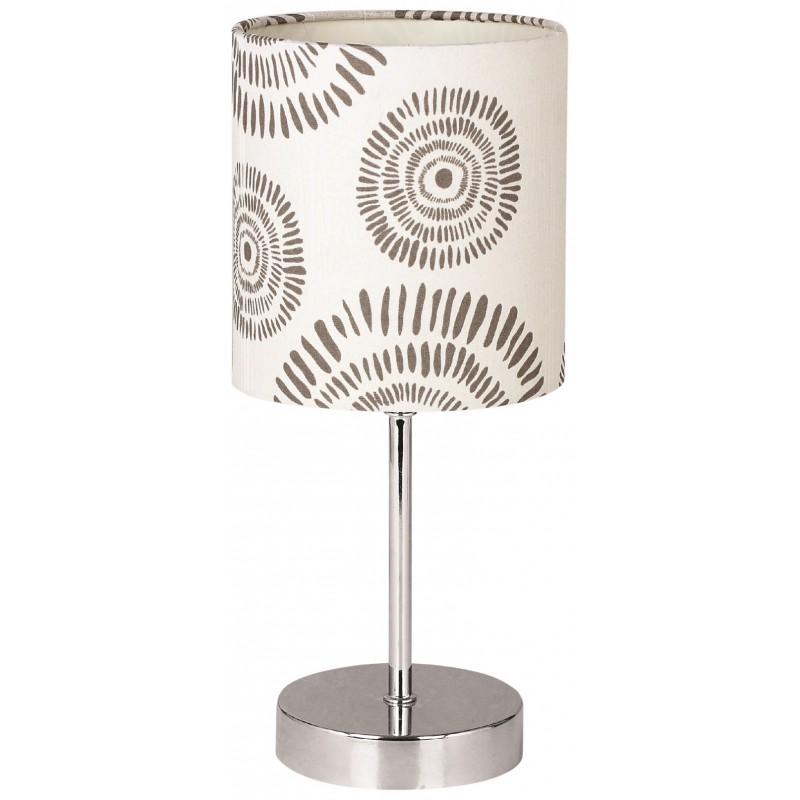 Oswietlenie - lampka na stolik z kremowym kloszem e14 emily 41-26767 candellux firmy Candellux