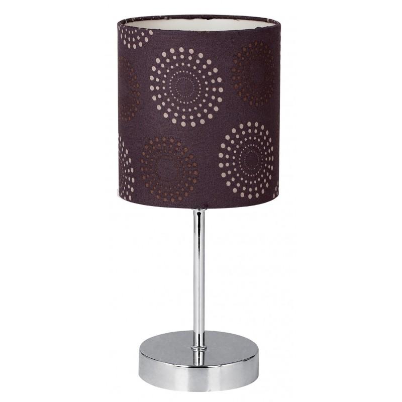 Lampki-nocne - lampa nocna brązowa emily e14 41-26736 candellux firmy Candellux