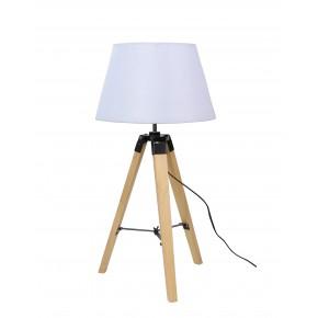 LUGANO LAMPA GABINETOWA 1X60W E27 BEŻOWY + ABAŻUR O TYM SAMYM INDEKSIE