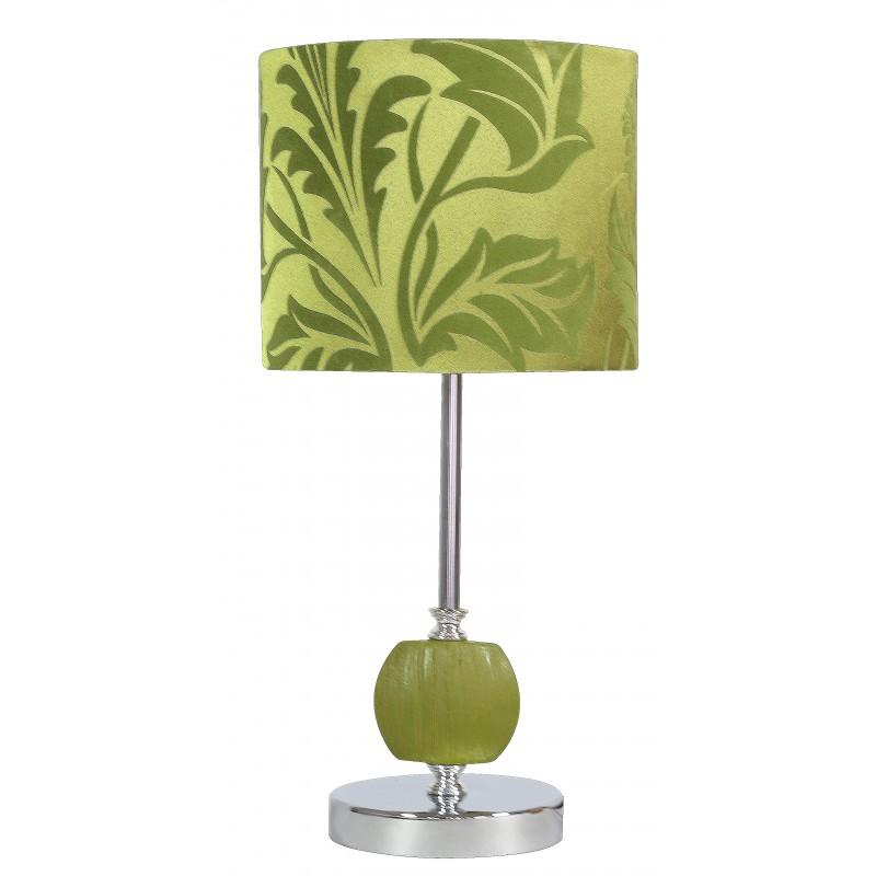 Lampki-nocne - zielona lampka z kloszem w liście e27 cort 41-34724 candellux firmy Candellux