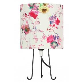 Lampki-nocne - lampa stołowa kwiaty różowe + 1x40w e14 41-34731 micra candellux