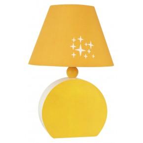 OFELIA LAMPA GAB. MDF 1X40W E14 POMARAŃCZOWA