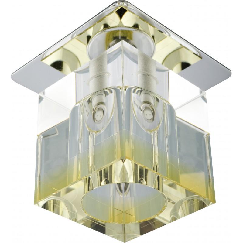 Oprawy-sufitowe-stale - oprawa sufitowa kwadrat kryształ sk-19 g4 20w 2279797 candellux firmy Candellux